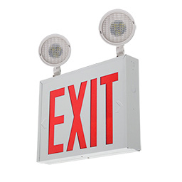 Combo LED Exit Sign